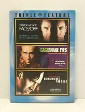 Nicholas Cage Triple Feature: Face Off ~ Snake Eyes ~ Bringing Out the Dead New!