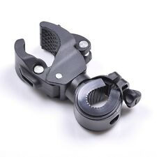 B65 Cycling Flashlight Mount Bicycle LED Light lamp Holder Clamp Torch Clip