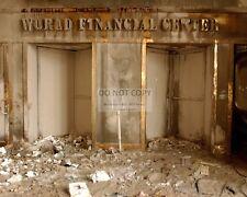 WORLD TRADE CENTER ENTRANCE POST SEPTEMBER 11 ATTACKS 9/11 - 8X10 PHOTO (ZZ-760)