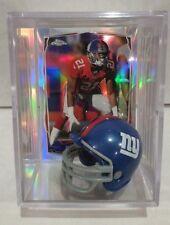 Dominique Rodgers-Cromartie New York Giants Mini Helmet Card Display Case Auto