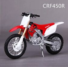 Motorcycle 1:18 Maisto Honda CRF450R Collection Kids Christmas Gift Toy Model