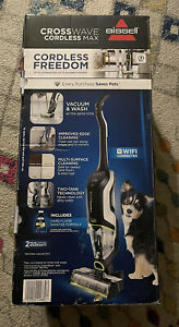 BISSELL CrossWave Cordless Max Multi-Surface Wet Dry Vac 2590 - Factory Sealed!