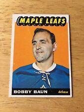 Topps Hockey 1965-66  Bobby  Baun Toronto Maple Leafs card #13