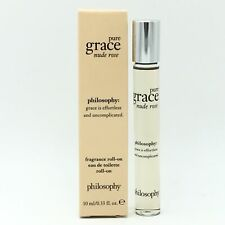 Brand New Philosophy Pure Grace Nude Rose EDT For Women 0.33 oz