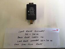 Land Rover Glow Plug Relay PRC6913
