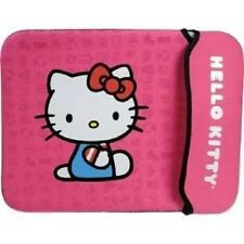 Hello Kitty Pink Neoprene Sleeve Cover for Netbook Notebook w Screen up to 10.2""