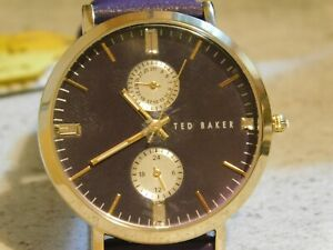 Ted Baker Ladies Designer Dual Dial Watch stunning