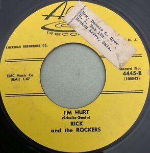 RICK AND THE ROCKERS-I'm Hurt-Arc Teen RARE Rockabilly 45