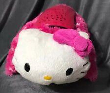"Hello Kitty Dream Lights Pillow Pal. 12"" Light Up Nightlight Pink Plush"