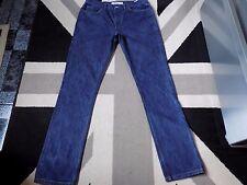 Topman Vintage Slim Jeans 32 Long Dark indigo Wash  #174