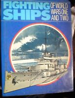 BOOK MILITARY FIGHTING SHIPS WARS 1 & 2 ILLUSTRATED 255 PAGES SEE PICS