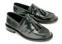Ikon Originals Shoes Mens Selecta Tassel Loafer - Black