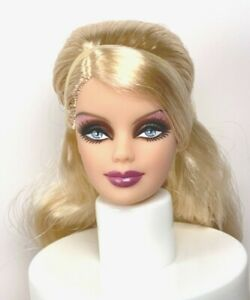 HEAD : 2009 HOLIDAY : GODDESS : BARBIE DOLL : MODEL MUSE : OOAK : UNBOXED *FLAW