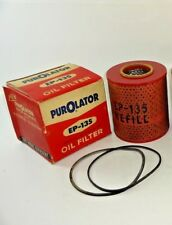 Purolator EP-135 Oil Filter Cartridge Refill For Many 1950s- 60s Int'l Harvester