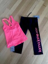 Lorna Jane Brand New Tights  And New Lorna Jane Athletic Sports Top  Size 8-10