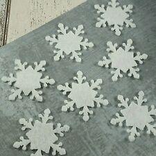 ** GRATIS UK FRANQUEO ** Poinsettia 6 X dado corta le deseamos una feliz Navidad