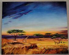 MARTIN KATON AFRICA AT PEACE GICLEE ON CANVAS SIGNED #88/99 W/COA 30X24