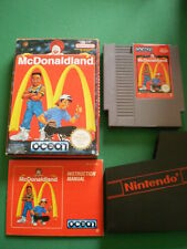 Nintendo NES McDONALD LAND Complet PAL B FRA Mc Donald