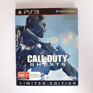 Call Of Duty Ghosts Steelbook - Sony Playstation 3 PS3 - Free Postage + Manual