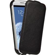 Schwarz Leder Tasche für  Samsung Galaxy S3 III i9300 Android Hülle Flip