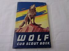 Vintage Wolf Cub Scout Book Softcover Boy Scouts Of America