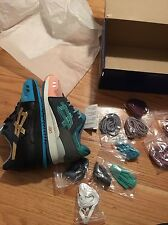 Asics Gel Lyte III x Kith Ronnie Fieg Homage What The Size 8.5 H54FK Salmon Toe