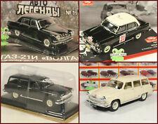 1:43 GAZ m21 21 Y 22 Volga Russian DeAgostini Magazine USSR Limo Car GDR USSR