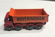 Vintage Matchbox Lesney Foden Hoveringham Tipper #17 Made In England 1-75 Series
