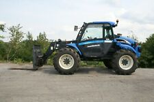 New Holland Lm435a Telescopic Forklift Diesel Power Shuttle 110 Iveco Turbo 4cyl