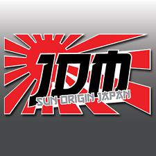 1x JDM Sole ORIGIN 4 Colori Auto Laptop Adesivo decalcomania in vinile finestra | JAP | EURO