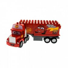 1x Lego Duplo LKW Disney Cars rot Mack 95 Lightning Mc Queen 5816 89411pb01c01
