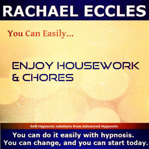 Enjoy Housework & Chores, Motivation, Motivational Hypnotherapy Self Hypnosis CD
