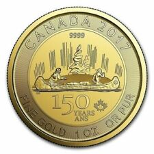 1 oz. Royal Canadian Mint (RCM) Gold Münzen