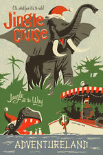 "Vintage Disney ( Jingle Cruise ) 11"" x 17"" Collector's Poster Print - B2G1F"