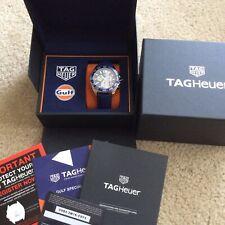 Brand New Tag Heuer Gulf Date Chronograph Quartz Wrist Watch