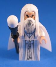 LEGO® LORD OF THE RINGS™ 10237 SARUMON Minifigure LONG ROBES 100% LEGO + STAFF
