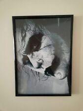 Il Joker Heath Ledger Cavaliere Oscuro a4 260gsm Poster incorniciato