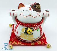 Maneki Neko Feng Shui Lucky Cat Fortune Wealth Decoration