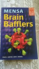 Mensa Brain Bafflers Official Mensa Puzzle Book (NEW)