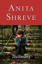 Testimony by Anita Shreve (2009, Paperback)