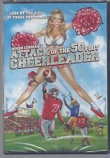 CULT  DVD-- ATTACK OF THE 50 FT CHEERLEADER  -  NEW - FREE  FIRST CLASS MAIL
