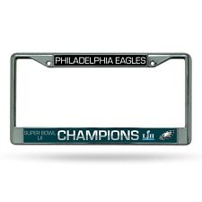 Philadelphia Eagles Super Bowl LII 52 Champions METAL License Plate Frame NWT