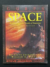 Steve Jackson Games Gurps Space Second Edition Book Unused