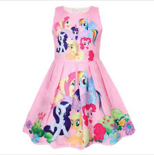 New My Little Pony Princess Dress Kids Girls Party Holiday Birthday Tutu Dress
