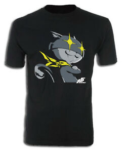 **Legit** Persona 5 Monster Cat Mona Morgana Authentic Anime Game T-Shirt #21105