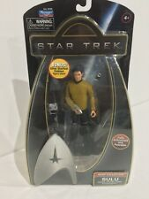"""2009 Star Trek Warp Collection Sulu 6"""" Figure By Playmates Toys"""