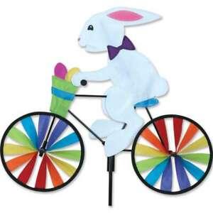 "Easter Bunny Eggs Bicycle Bike Wind Spinner 20"""