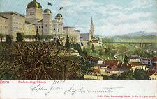 OLD POSTCARD - SWITZERLAND - Bern - Parlamentagebaude - 1904 - undivided back
