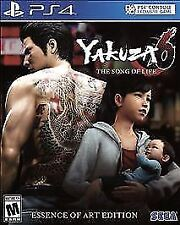 Yakuza 6: The Song of Life -- Essence of Art Edition (Sony PlayStation 4, 2018)