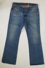 Big Star Jeans Women's 32R Boot cut Medium Stonewashed Distressed 1W4B00FR-M